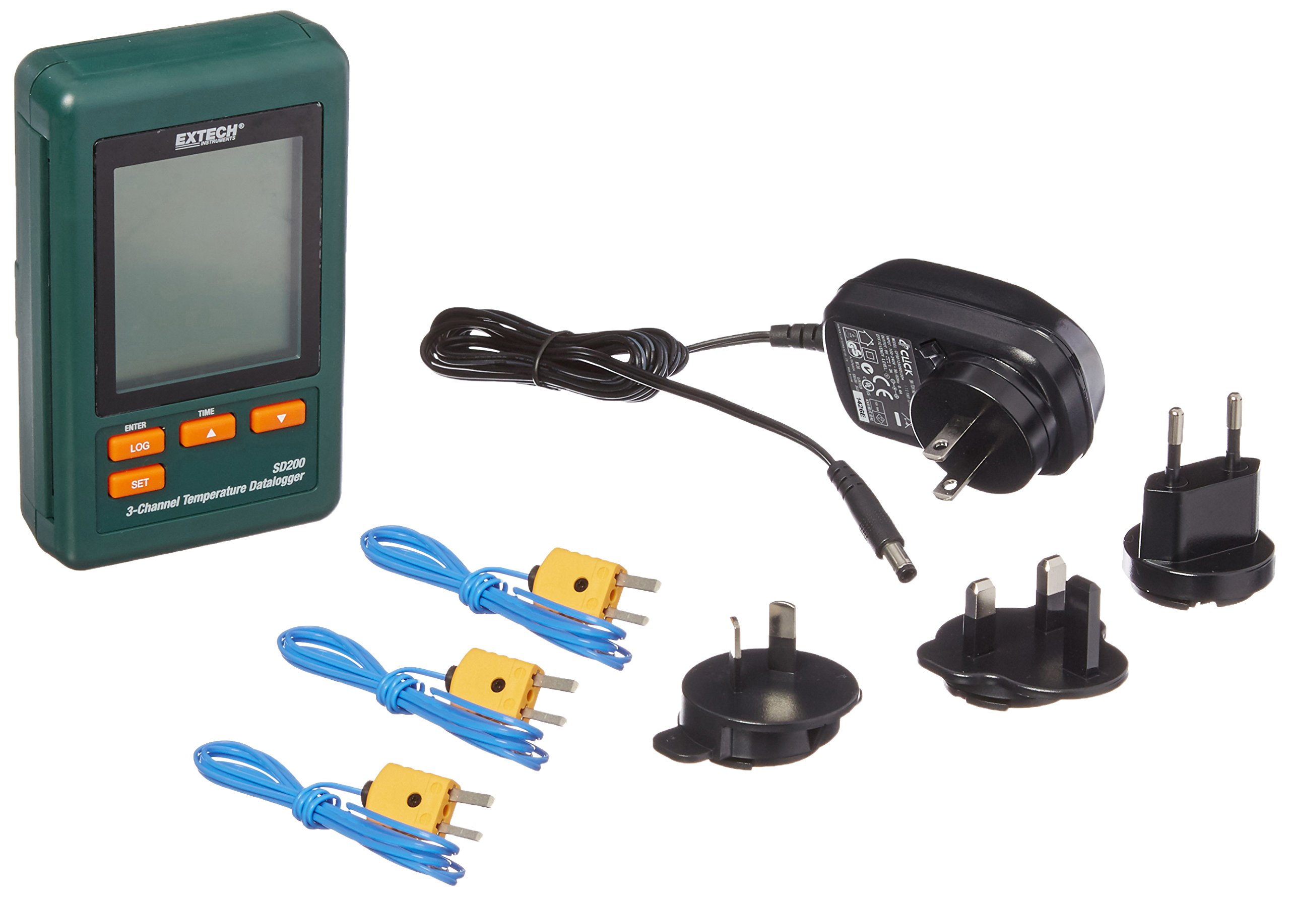 Extech Instruments SD200 3 Channel Temperature Datalogger by Extech (Image #1)