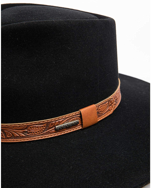 Sflgmt-8840 Stetson Mens Longmont 6X Felt Cowboy Hat