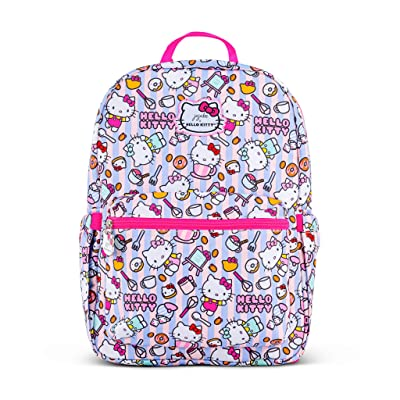 JuJuBe x Hello Kitty MiniBe Kids Backpack | Travel-Friendly, Compact, Lightweight, Padded, Adjustable Straps for Kids and Adults | Hello Bakery: Shoes