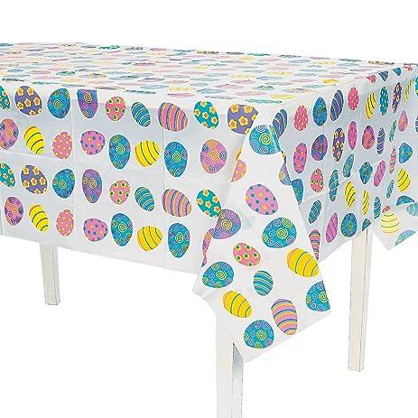 Lightweight EASTER Tablecloth EGG 54u0026quot; X 72u0026quot; ...