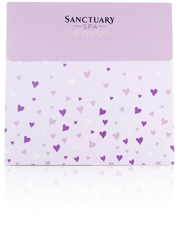 Sanctuary Spa New Mum Pamper Bag Beauty Cussons Baby Purple Complete Care Set