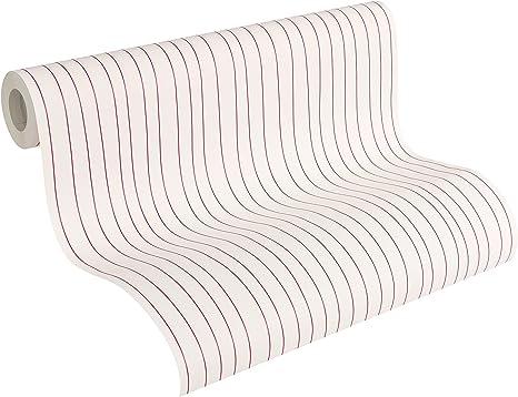 Esprit Home Papier peint intiss/é Urban Spring rouge 10,05 m x 0,53 m 302773