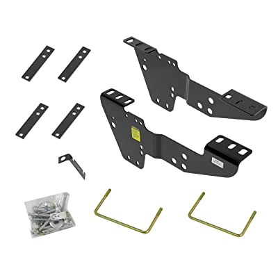 Reese 50064 Fifth Wheel Custom Quick Install Brackets - Select Chevrolet/GMC Trucks: Automotive