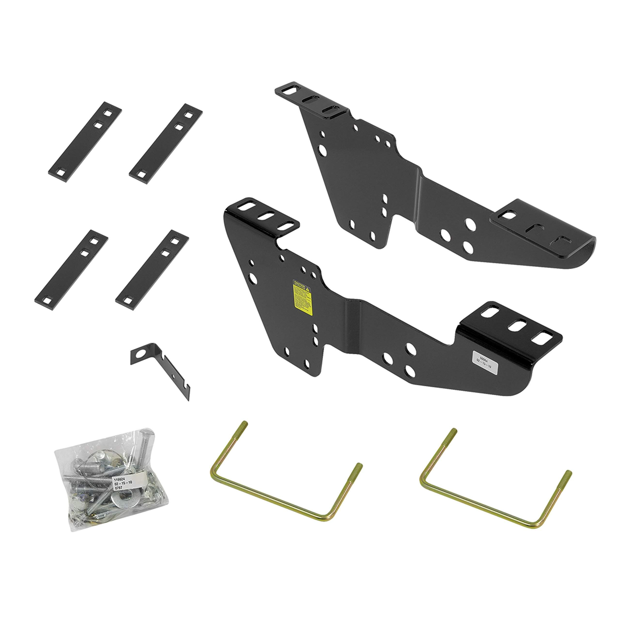 Reese 50064 Fifth Wheel Custom Quick Install Brackets-Select Chevrolet/GMC Trucks by Reese