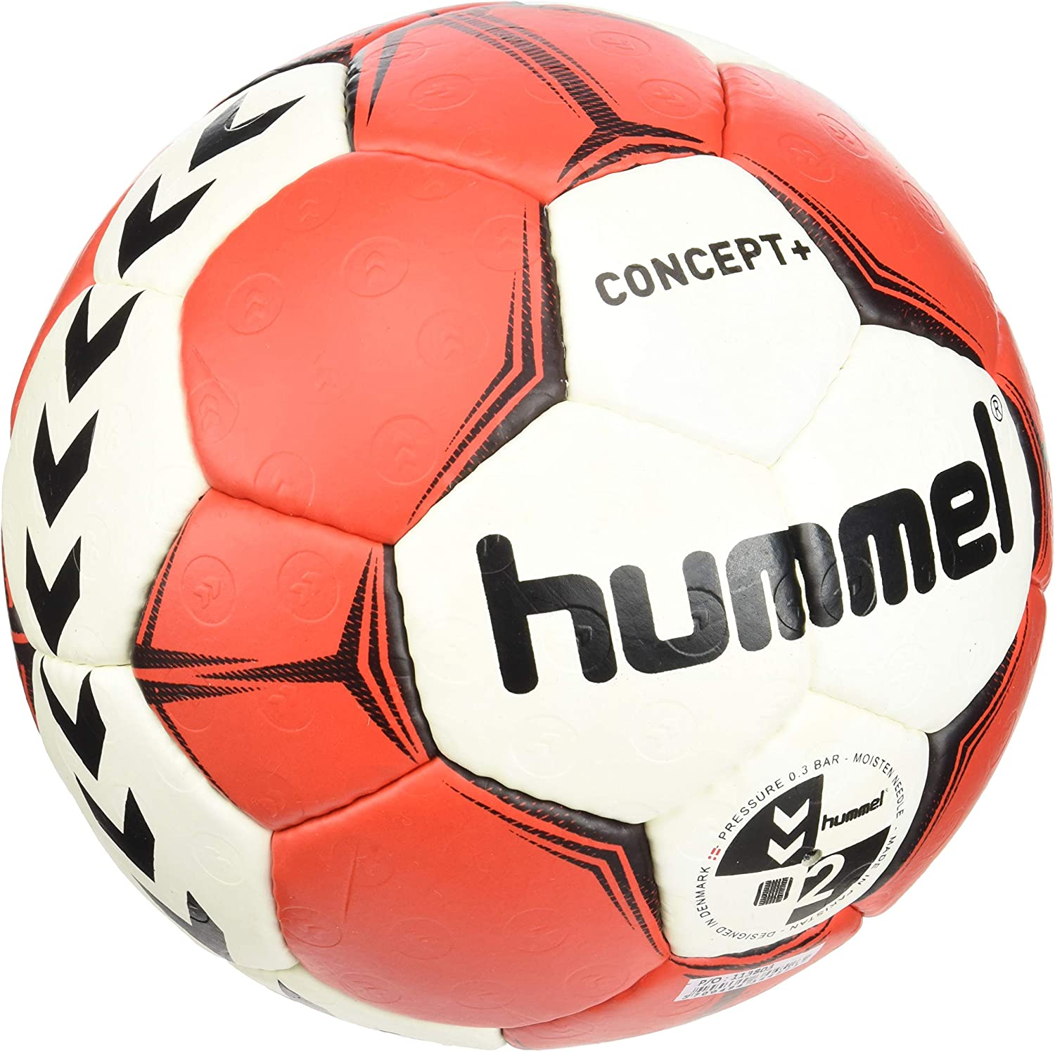 hummel Concept Plus Handball Handball Ball Negro, Rojo, Color ...