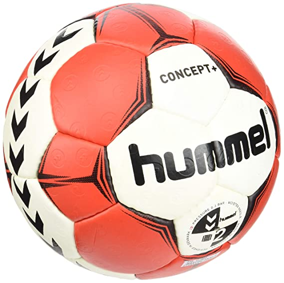 hummel Concept Plus Handball Handball Ball Negro, Rojo, Color ...
