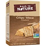 Back To Nature Non GMO, Crispy Wheat Crackers, 8 ounce