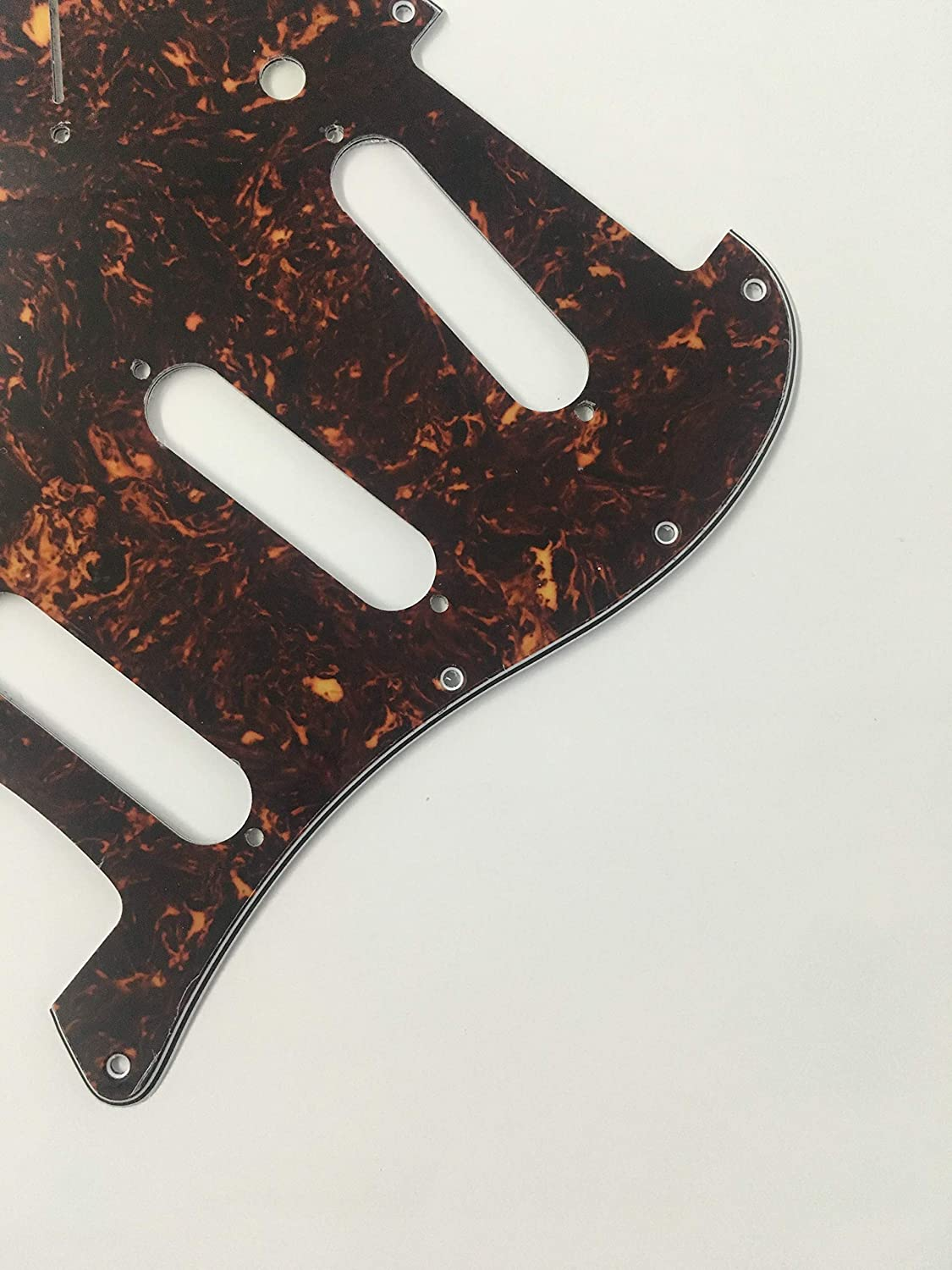 Electric Guitar Pickguard for Fender Stratocaster Start US SSS 11 Hole Style 3 Ply Mint Green