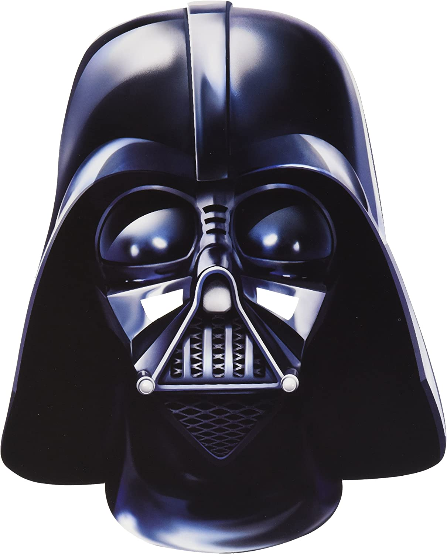 Star Wars - Careta de Darth Vader de cartón, talla única (Rubies ...