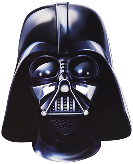 Star Wars - Careta de Darth Vader de cartón, talla única ...
