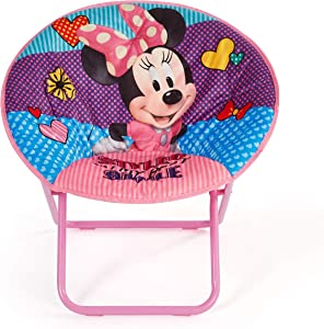 "Disney Minnie Mouse 23"" Saucer Chair, Pink"