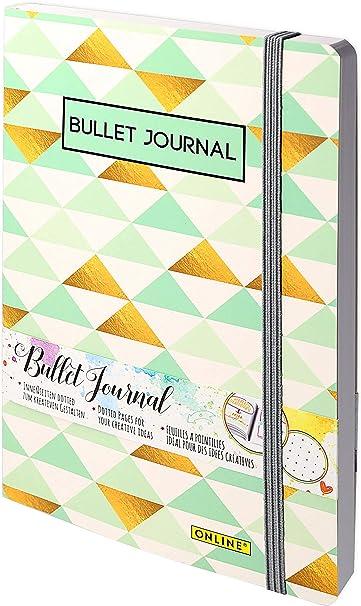 Oferta amazon: Online - Bloc de notas Bullet Journal