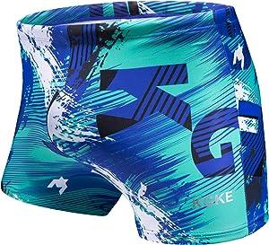 KGKE Swim Boxer Briefs Short Swim Jammer Camo Racer Mens...