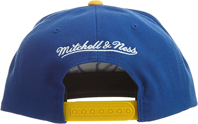 discount sale check out picked up Amazon.com: Mitchell & Ness Golden State Warriors Blue/Gold ...
