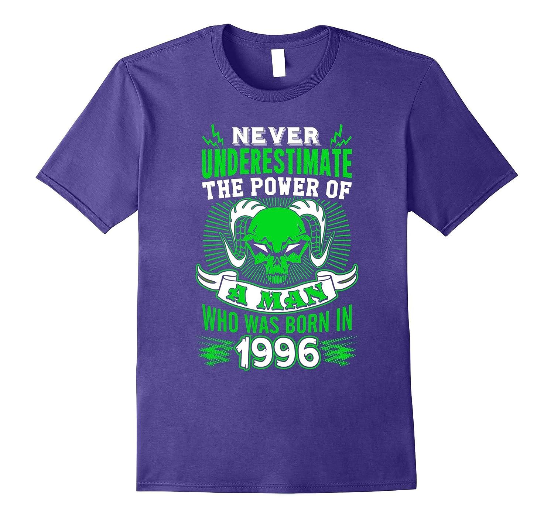 Born In 1996 T-Shirt 21st Birthday Ideas for Men Best Gift-PL