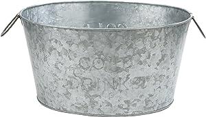 Mind Reader Bucket, Silver Ice Tub