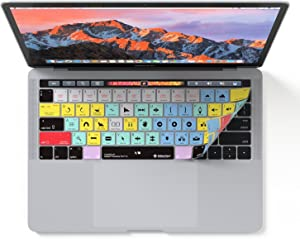 "Adobe Premiere Pro CC Keyboard Cover | Skin fits Apple MacBook Pro Touch Bar 13"" & 15"""