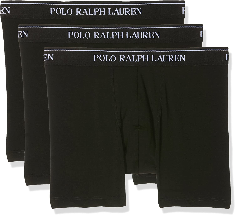 Polo Ralph Lauren Boxer Brief Calzoncillos (Pack de 3) para Hombre