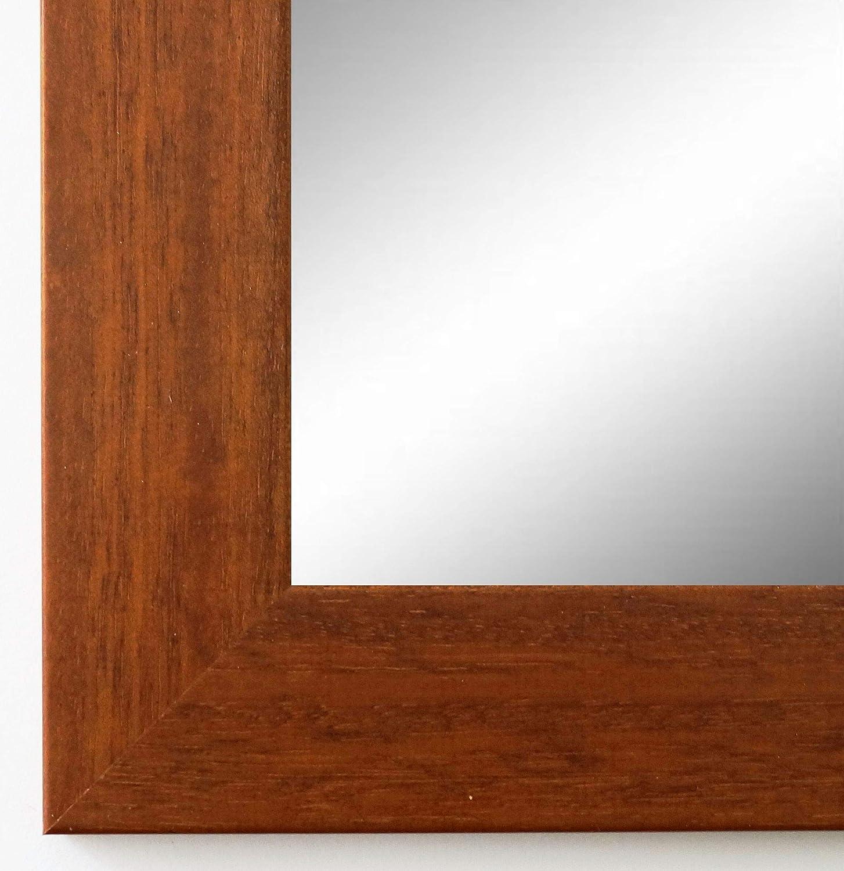 Online Galerie Bingold Spiegel Wandspiegel Badspiegel - Braun 4,0 - Handgefertigt - 200 Größen zur Auswahl - Modern, Landhaus - 50 x 80 cm