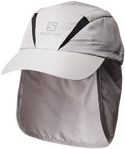 Salomon Gorra unisex con protector de nuca extraíble, XA+ CAP, S/M,