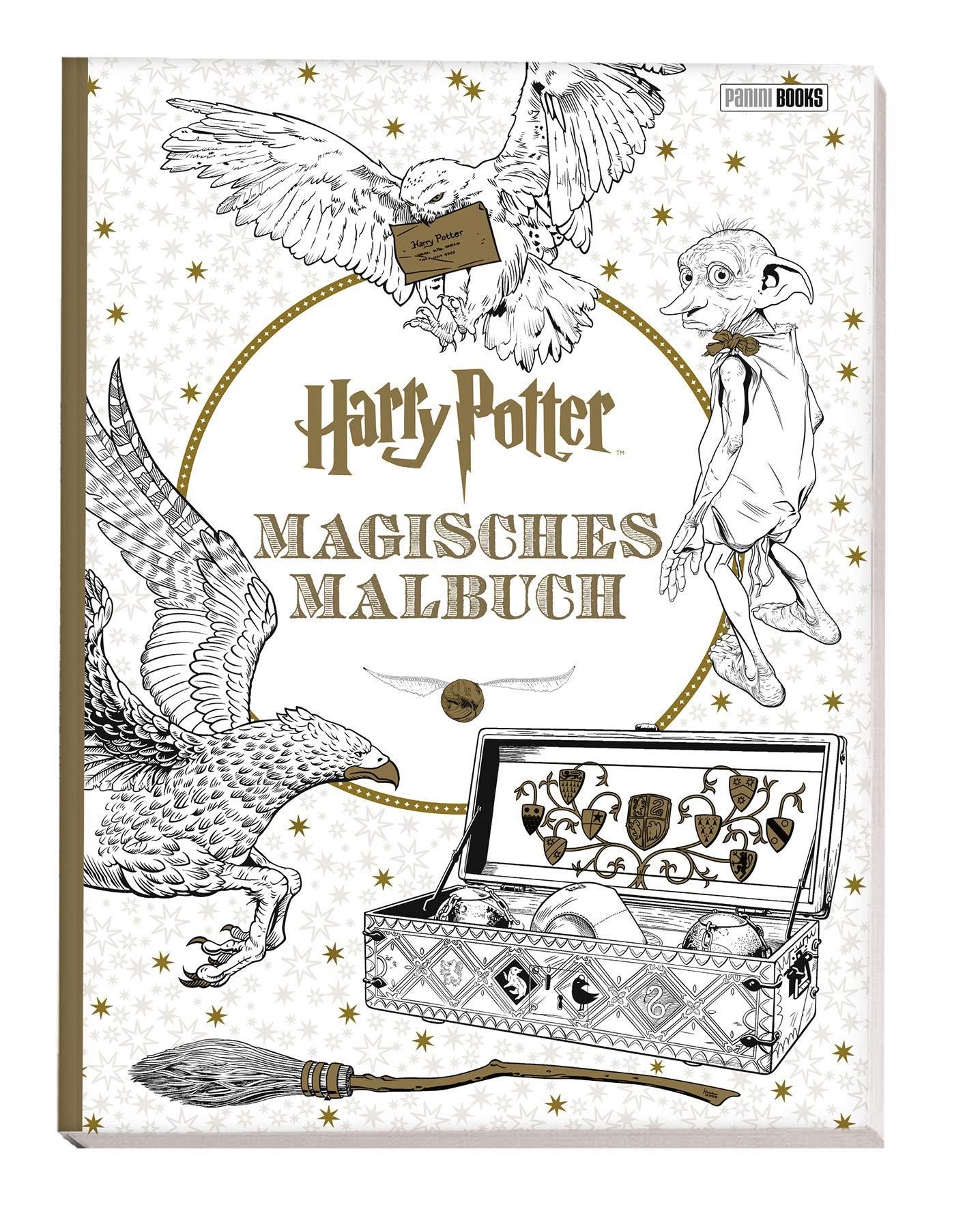 Harry Potter Magisches Malbuch Amazon De Bucher