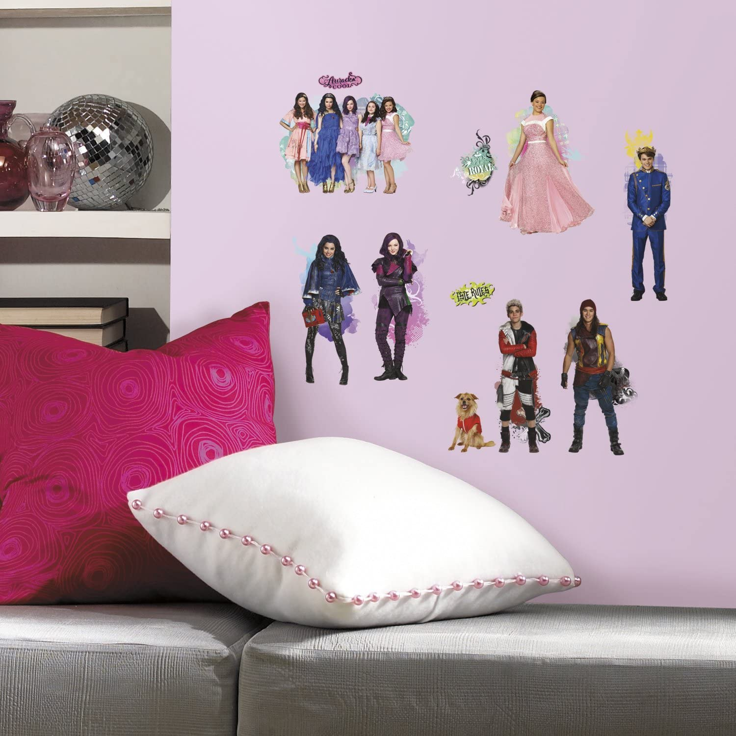 RoomMates Descendants Peel And Stick Wall Decals,24 count - RMK2850SCS