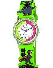 Ravel Children's 3D Dinosaur Time Teacher Watch
