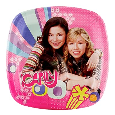 iCarly Pocket Dessert Plates (8 count): Clothing