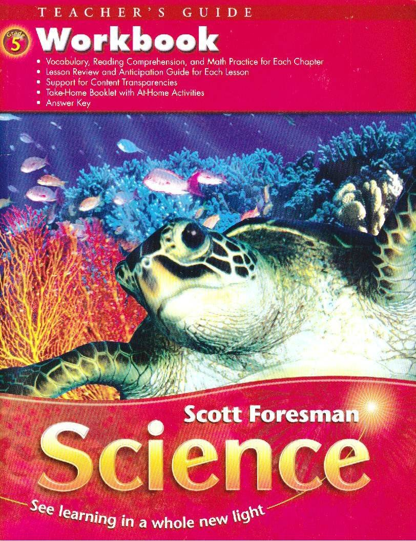 Download Teacher's Guide Workbook for Scott Foresman Science Grade 5 pdf epub