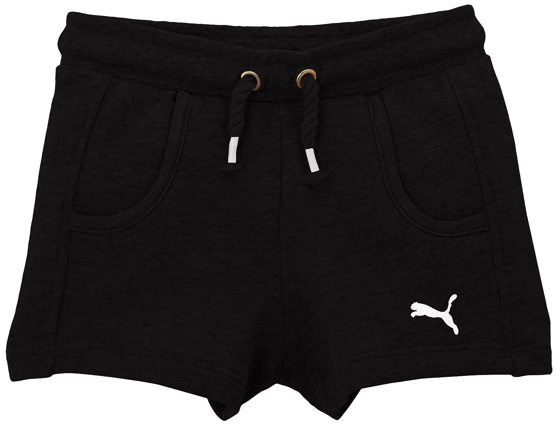 Taille Fabricant : 140 Pantaloncini da Ragazza FR : 10 Puma Calypso Nero Nero