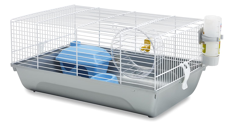 VADIGRAN Savic Home Martha Cage pour Hamster Blanc/Gris 46, 5 x 29, 5 x 21 cm 9763