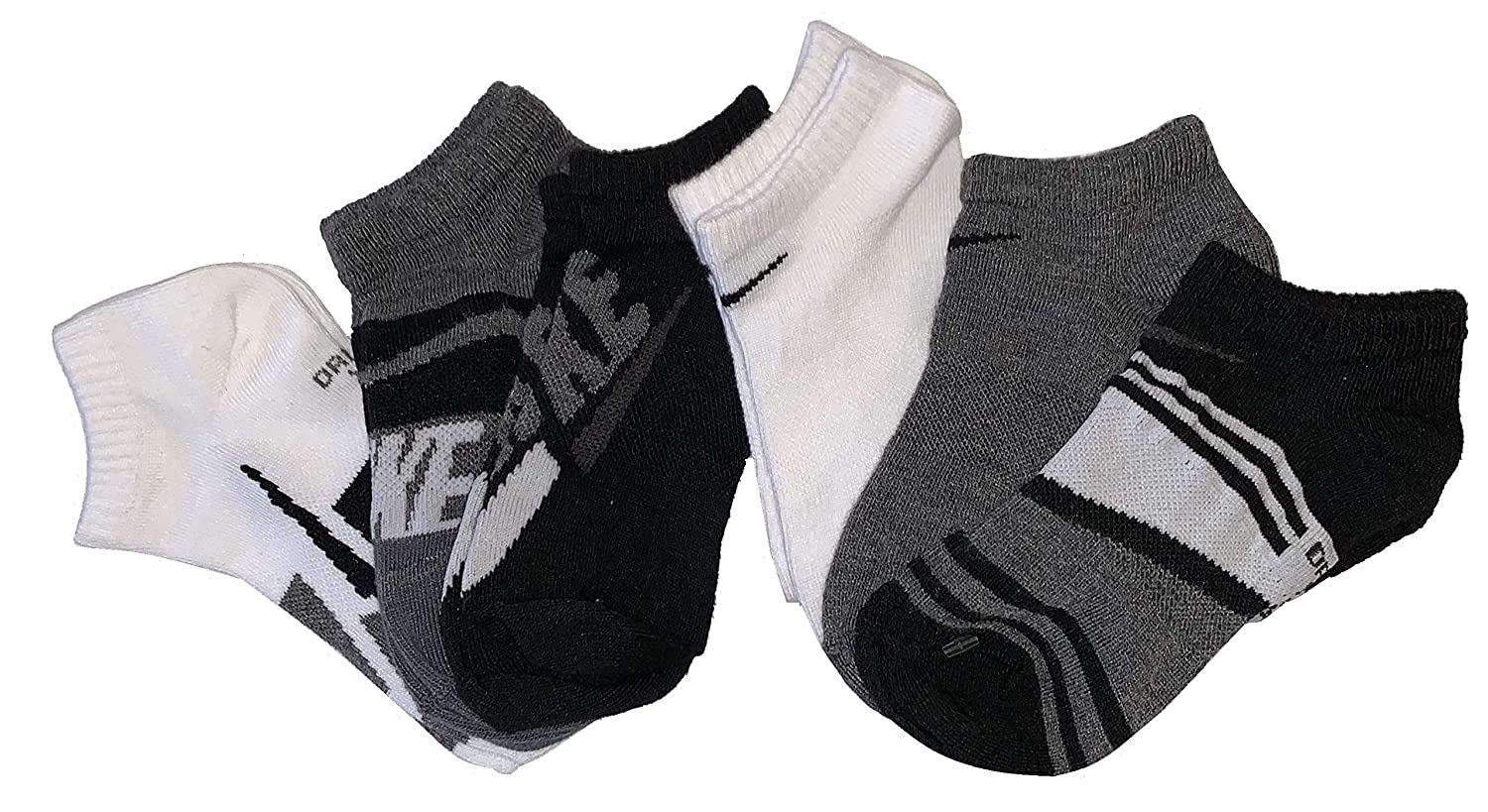 380e4493f793 Nike Kids Young Athletes No Show Socks 6 Pairs Active Hoodies