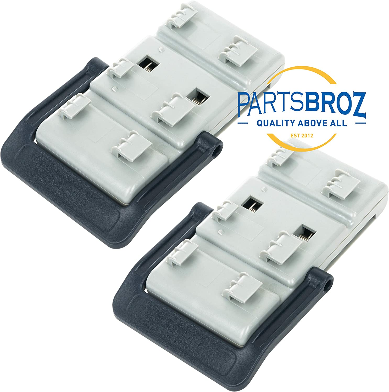 Replaces Part Numbers AP5736133 DD82-01121B Rack Adjusters for Samsung Dishwashers by PartsBroz 2983167 /& PS8690520