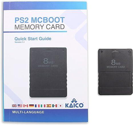 McBoot FMCB 1.966 Tarjeta de memoria 8MB para la Sony Playstation ...