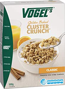 Vogel's, Breakfast Cereal, Classic Golden Baked Clusters, 500g