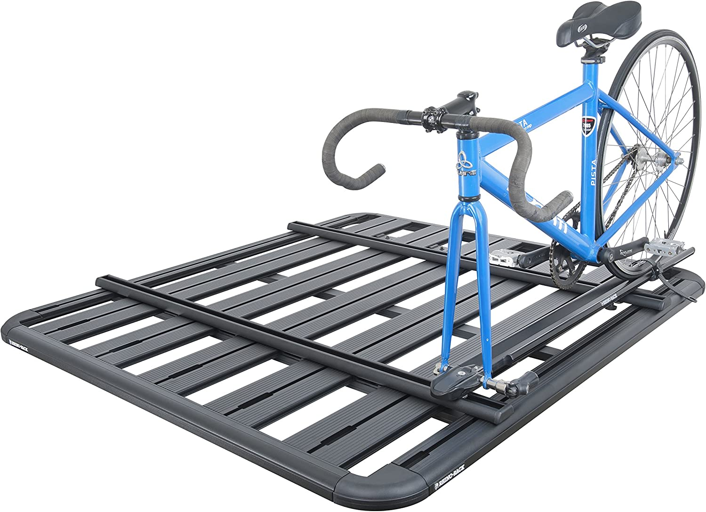 Rhino-Rack USA 43119B Pioneer Platform Roof Rack Tray Accessory Bar 49 Inch To mount sport accessories Pioneer Platform Roof Rack Tray