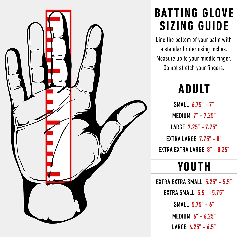 delicate colors outlet store sale unique design Franklin Sports MLB Digitek Batting Gloves – Youth Batting Glove –  Tri-Curve Technology Fit – Custom-Sized Batting Gloves – Genuine Leather  Heel Pad – ...