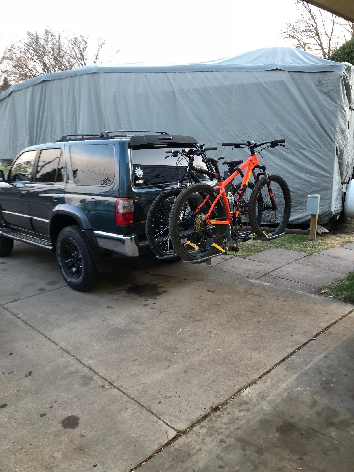 Capstone 10012 Hitch Mount 2 Bike Carrier