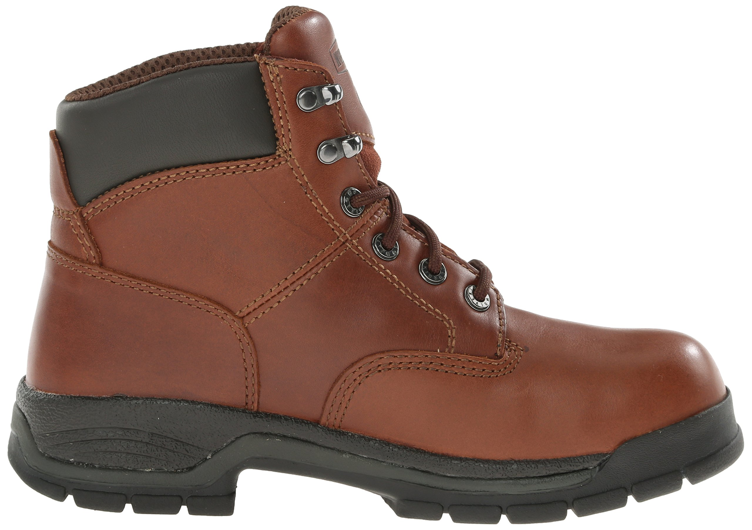 Wolverine Women's Harrison WMS 6'' LACE UP-W, Brown, 10 M US by Wolverine (Image #7)