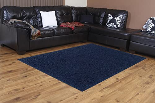 Bright House Solid Color Navy 4 X6 – Area Rug