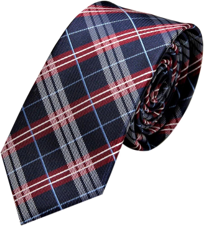 GASSANI - Corbata - Cuadrados - para hombre Azul Blue - Blue/red ...