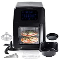 Modernhome 8 Qt. Air Fryer Oven with Auto-Stirring Bundle