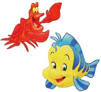 2 tlg Set Bgelbilder   Disney  Arielle die Meerjungfrau
