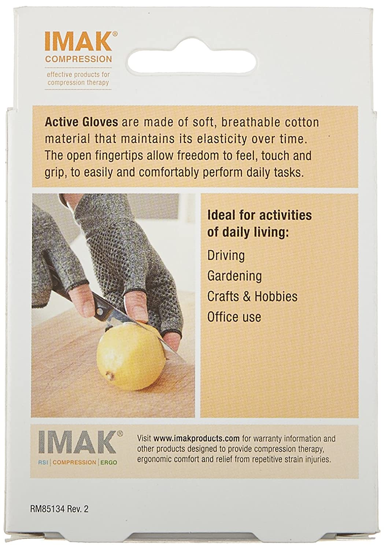 Driving gloves for arthritis - Amazon Com Imak Compression Active Arthritis Gloves Original With Arthritis Foundation Ease Of Use Seal Medium Health Personal Care