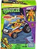 Mega Bloks DMX38 Mega Bloks - Vehículo lanzador de pizza de michelangelo, tortugas ninja, juego de construcción (Mattel DMX38)