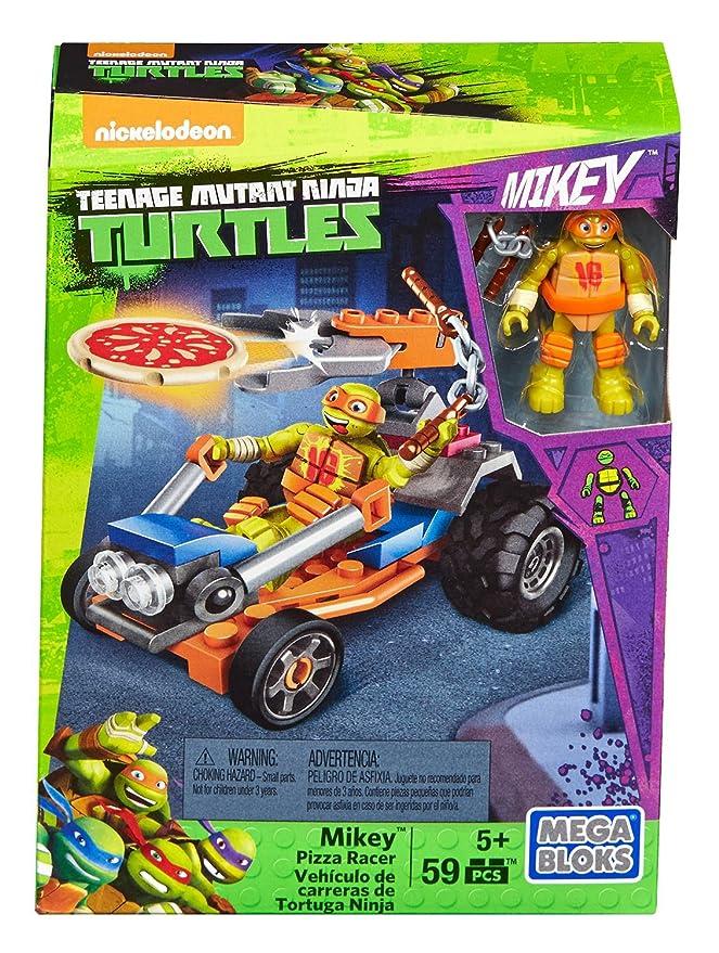 Mega Bloks Teenage Mutant Ninja Turtles Ninja Racers, Michaelangelo Pizza Launcher