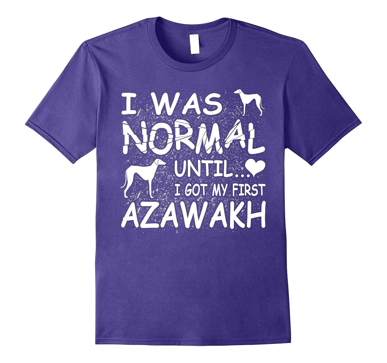Azawakh shirt I was normal until funny tee-Art