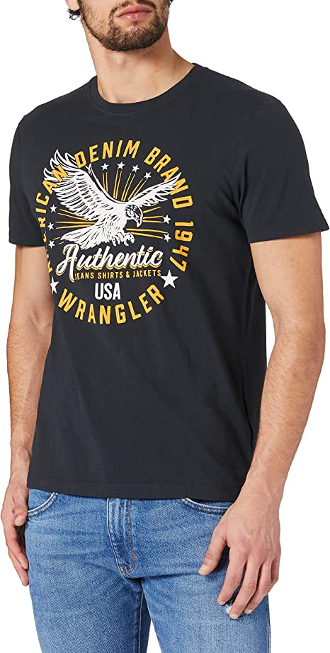 TALLA M. Wrangler Claic Americana Camiseta para Hombre