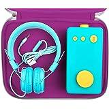 Duragadget Housse Large Violette Compatible avec Lunii, ma Fabrique à Histoires et Accessories (Non fournis) - Protection en néoprène