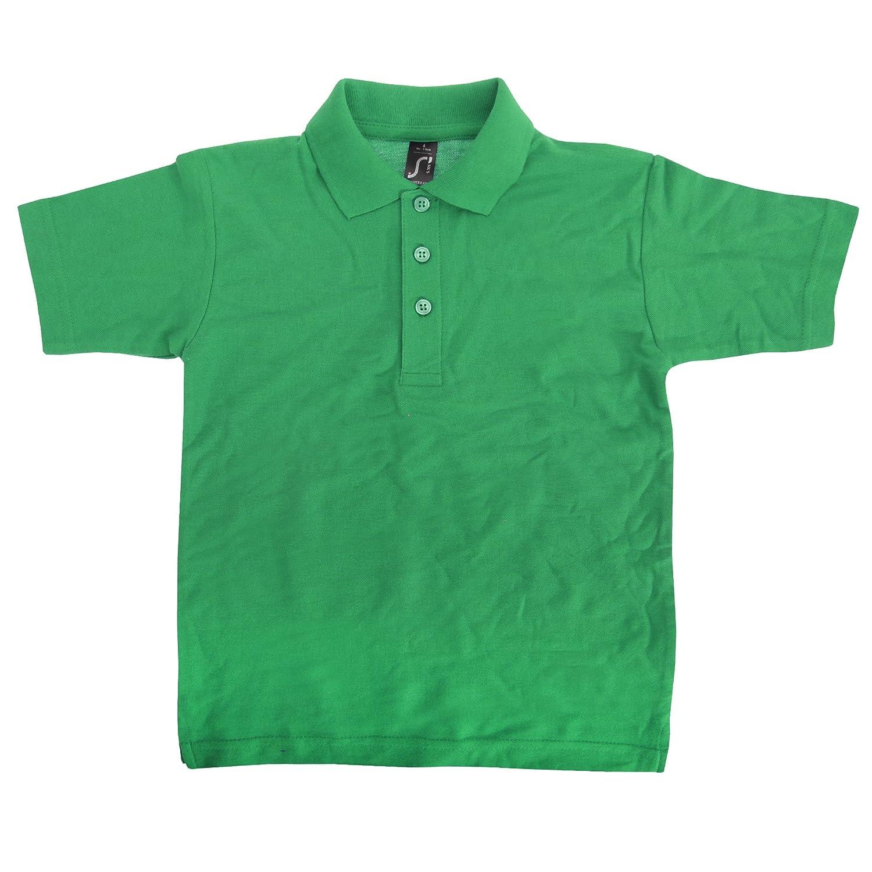 SOLS Kids Unisex Summer II Pique Polo Shirt